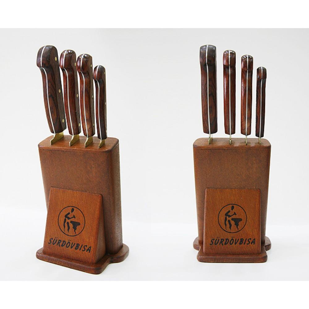Sürmene Sürdövbisa 61050 Mutfak Bıçakları Seti (4' lu set)