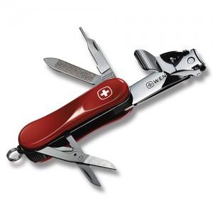Wenger Tırnak Makaslı Çakı Kırmızı Nail Clip 580