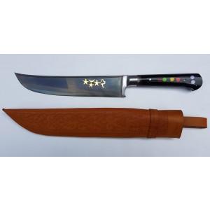 Özbek Ulubey Boynuz Saplı Bel Bıçağı