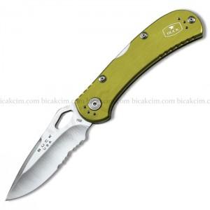 Buck Çakı 7447 Spitfire Testereli Yeşil Aliminyum 722