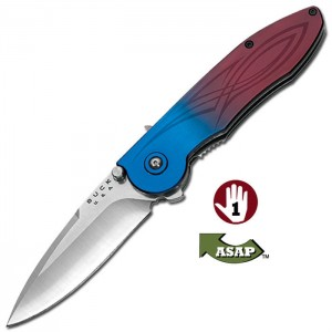 Buck Çakı Sirus Blue Burgundy ASAP 5678