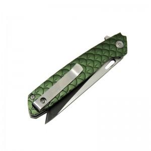 Columbia Çakı 604S Yeşil Metal Saplı