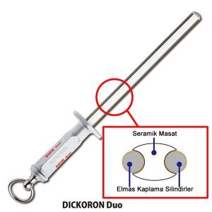 F.Dick Dickoron Duo Elmas Seramik Masat (oval  30 cm) FD79302252