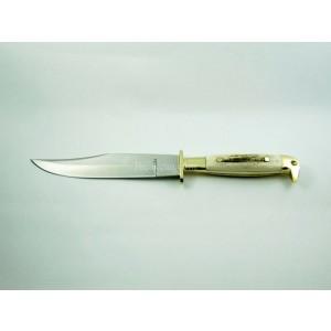 Emre Erus Koleksiyon Bıçağı Geyik Boynuz Saplı Bel Bıçağı