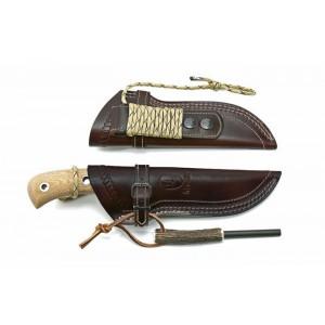 Muela Aborigen 12D Avcı Bıçağı Micarta Saplı