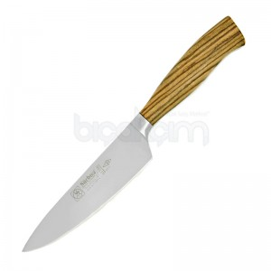 Sürmene Sürbisa 61310 Dövme Şef Bıçağı Zeytin Saplı