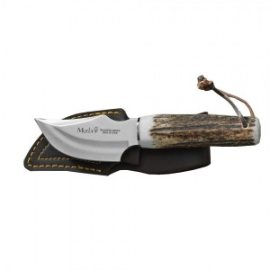 Muela Teckel-8A Geyik Saplı Deri Yüzme Bıçağı