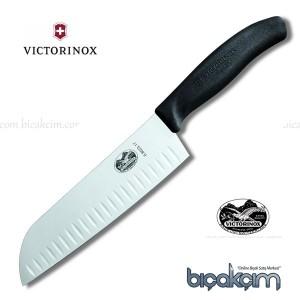 Victorinox Bıçak 6.8523.17 Santoku Flüt Ağızlı (17 cm)