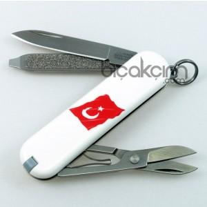 Victorinox Çakı 0.6223.07 TR Türk Bayraklı