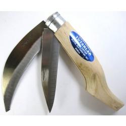 Bağ Bıçağı (Bıçkı) No: 2 Çift Ağızlı