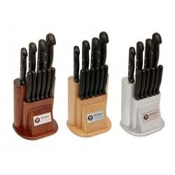 Sürmene Sürbisa 61500 Mutfak Bıçakları Seti Pimli (10' lu set)