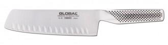 Global Japon Oluklu Nakiri Şef Bıçağı G81 (Yoshikin)
