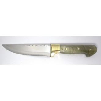 Yatağan Kemik Saplı Kasap Bıçağı No1