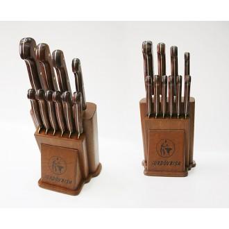 Sürmene Sürdövbisa 61100 Mutfak Bıçakları Seti (10' lu set)