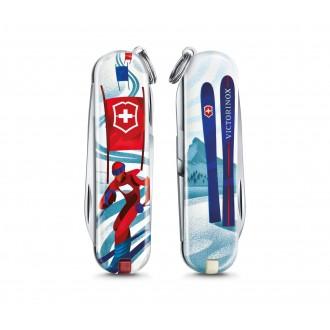 Victorinox Çakı 0.6223.L2008 Classic Ski Race Desenli 2020 Limitli