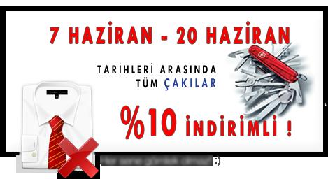 Bıçakçım.com Çakılarda Babalar Gününe Özel %10 İndirim Kampanyası